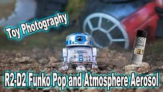Toy Photography | R2 D2 Funko Pop and Atmosphere Aerosol