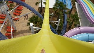 BH Hotel Mallorca - Sky Fall | Very Fast Water Slide Onride POV