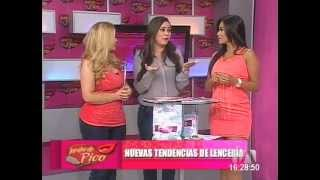 DESFILE LAURA ROPA INTERIOR JARABE DE PICO TELEAMAZONAS