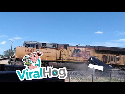 Fisher - Train Collides With Car Carrying Vehicle In El Paso
