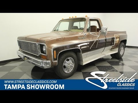 1973 Chevrolet C30 Cheyenne Super Camper Special for sale | 1395-TPA