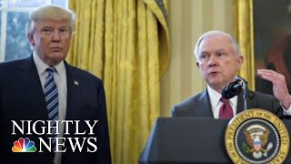 Democrats' New Warnings After Attorney General Jeff Sessions Firing | NBC Nightly News