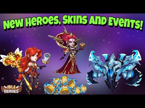 Idle Heroes (O) - 2nd Anniversary Event! 2 NEW Heroes, New Dark Hero Mihm and Light Hero Belrain