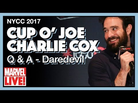 Cup O'Joe: Q & A Panel with Charlie Cox  Full NYCC 2017 Panel
