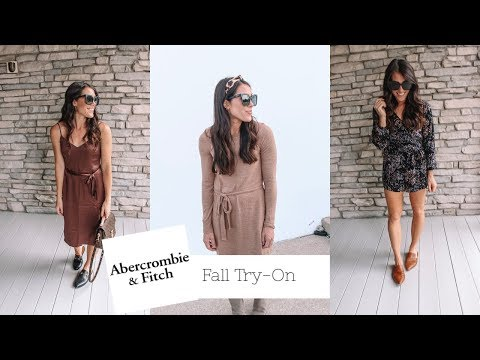Fall Abercrombie Try-On Haul