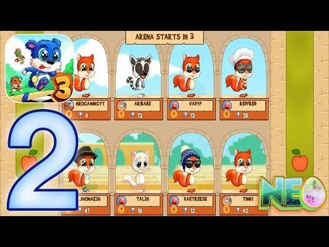 Fun Run 3: Gameplay Walkthrough Part 2 - This Game Is Lit! (iOS, Android)