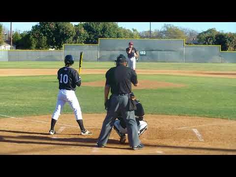 Aaron Fawcett Long Beach City College at bats 2018