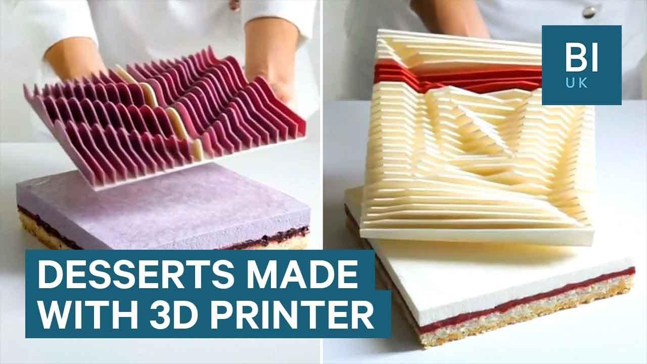 Архитект чија пасија се неверојатни торти направени со помош на 3Д принтер