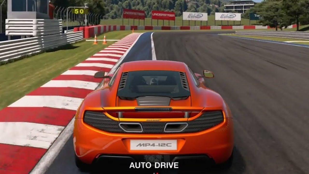 gran turismo sport - mclaren mp4-12c 2010 - test drive gameplay (ps4