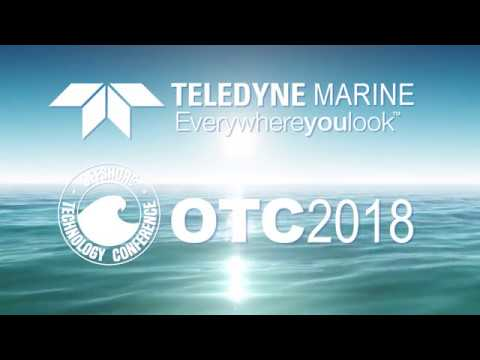 Teledyne Marine at the Offshore Technology Conference 2018