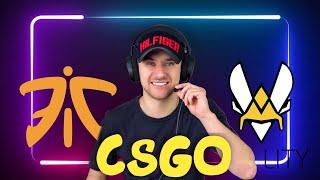 Fnatic vs Vitality / Прогнозы на Спорт  /CSGO