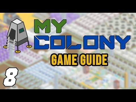 My Colony Game Tips: Part 8 - Tourism & Sneak Peek Ahead, Alien Tech