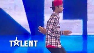 Robot Dancing Got Talent Cambodia Judge Audition - PP 0267 ព្រហ្ម សុខរីណា - 30 Nov 2014