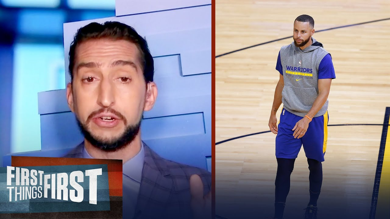 Download I'm out on Steph Curry winning another title with the Warriors — Nick | NBA | FIRST THINGS FIRST