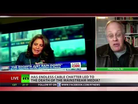 Chris Hedges: mainstream media ignores 'what the corporate state wants ignored'