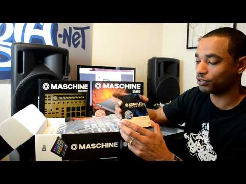 Native Instruments Maschine MK2 MKII Unboxing & First Impressions Video