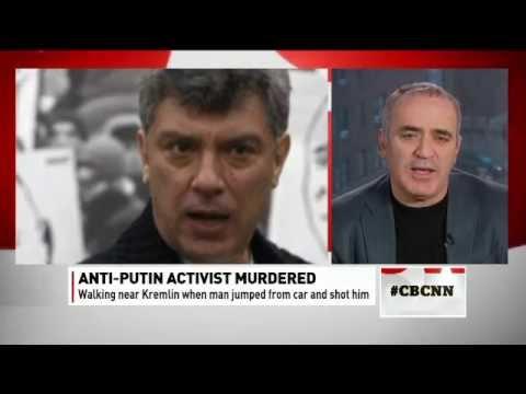 Garry Kasparov on CBC on the murder of Boris Nemtsov - Feb 28, 2015
