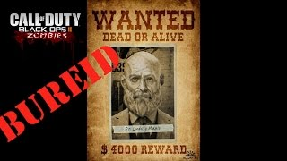 Call of Duty Black Ops 2 zombies пасхалка  за Максиса на карте Buried