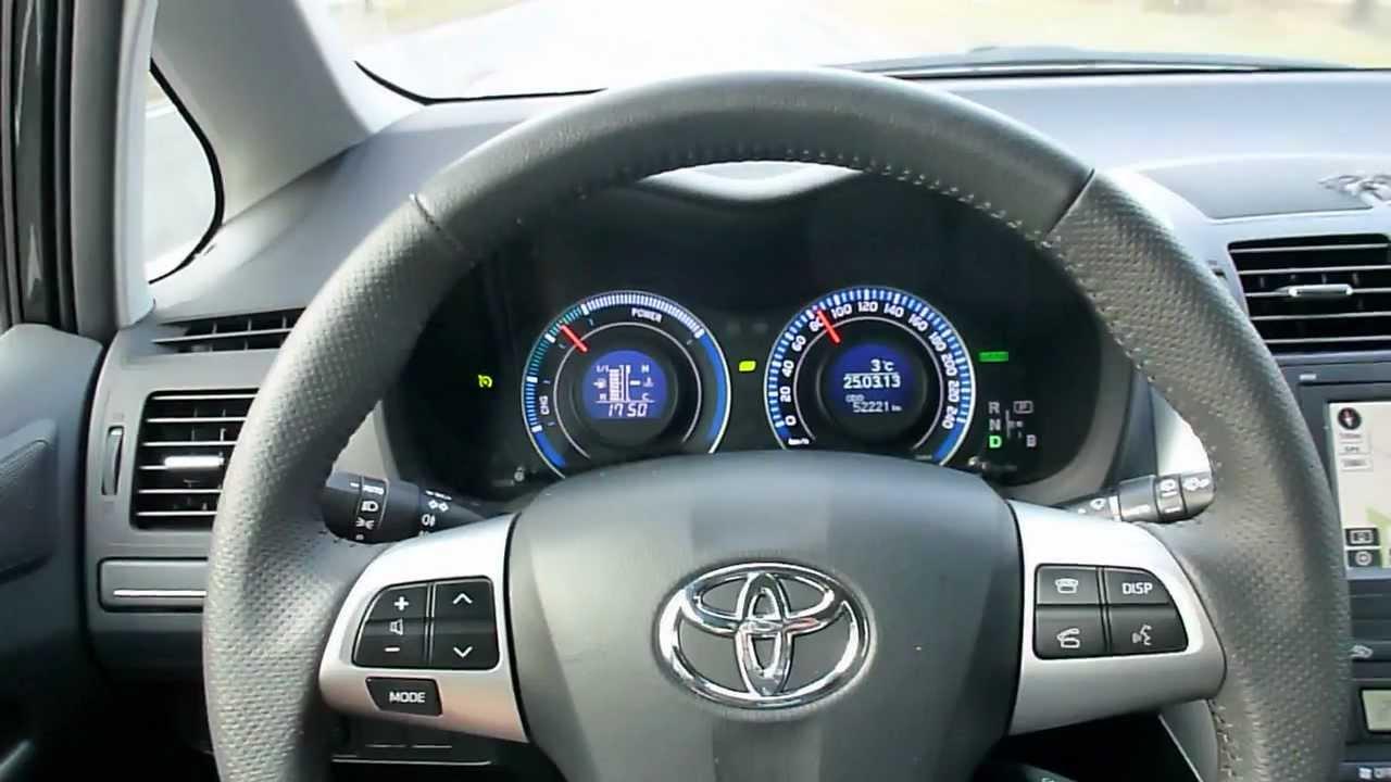 Hd Film Toyota Full Hybrid Auris Dashboard Zuinig Rijden