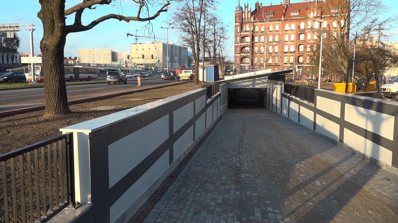 2017.12.13 Tunel pod ul. Okopową. Zapraszamy na spacer