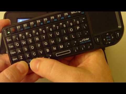 Rii mini wireless keyboard (Worlds smallest wireless usb keyboard w/touchpad) second look