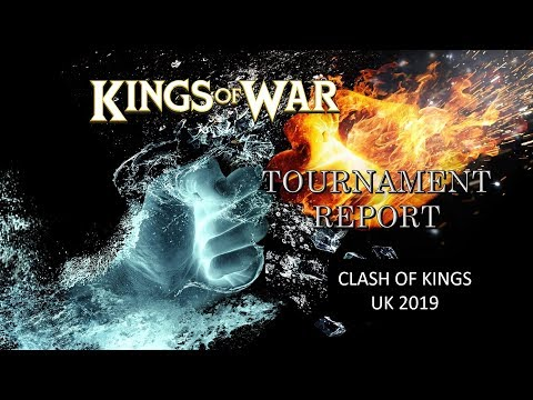 TOURNAMENT REPORT! Clash Of Kings 2019 Game 1-3