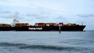 Containerschiff NINGBO EXPRESS von Hapag-Lloyd
