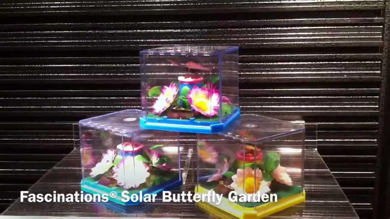 Solar Butterfly Garden