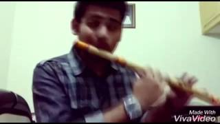 Tanu nenu cover version on flute | Lalit Talluri | Melodious flute cover version | A R rehman | SSS|