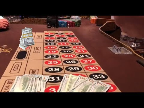LIVE Highrolling Bellagio On The Roulette Bet Of $1550,- Bet! BIG WIN Las Vegas