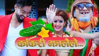New Comedy Teej Song 2074 || KAKARI JHALAILE_ Ganesh adhikari ft. Aashir P. Jung/ Anjali adhikari