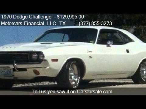 1970 Dodge Challenger Vanishing Point R T Coupe For Sale