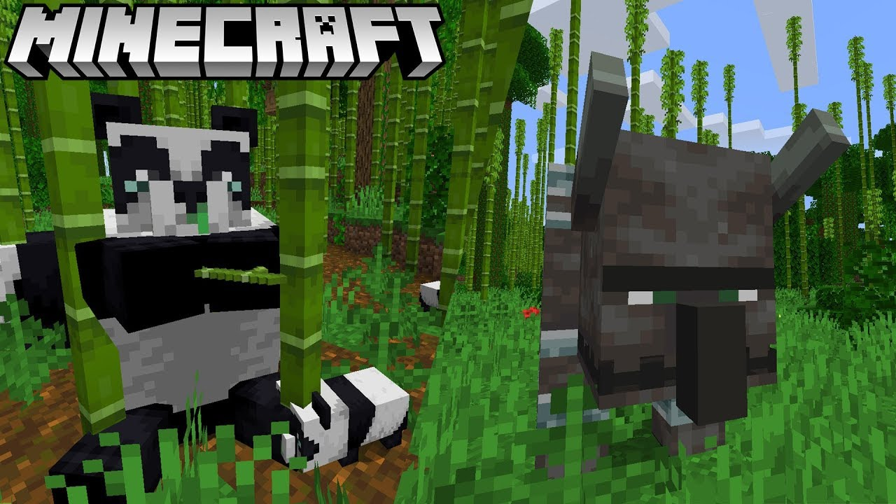 Neu Pandas Beast Armbrust In Minecraft Update 1 14 Village And