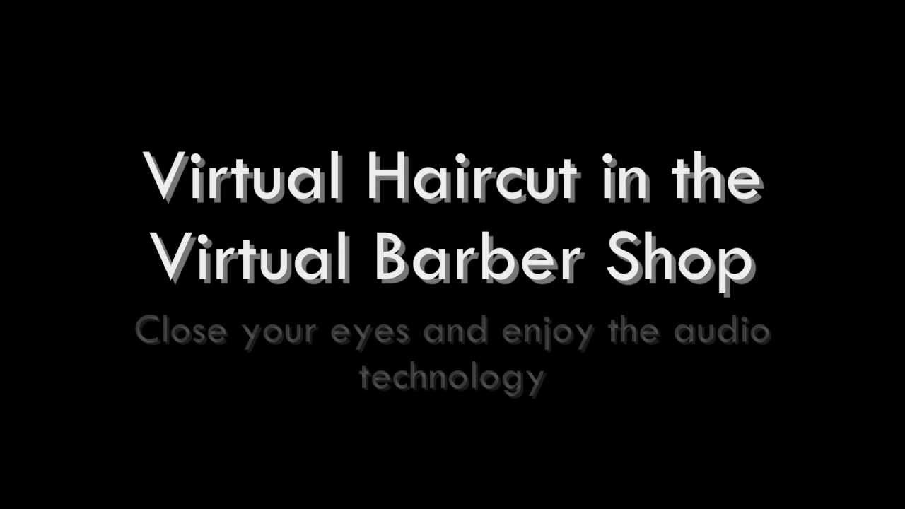 Virtual Barber Shop Enter To Get Your Haircut Youtube