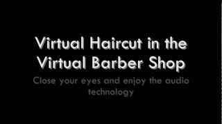 Virtual Barber Shop, Enter to get your Haircut!