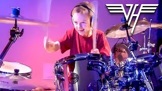 """I'm The One, Van Halen"" Avery Molek, 7 year old Drummer"