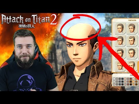 CHARACTER CUSTOMIZATION! | Attack On Titan 2 [PS4]