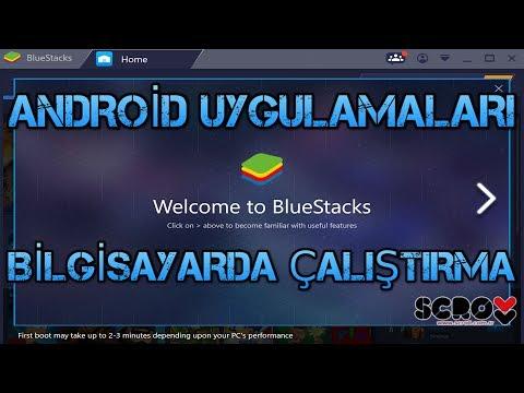 Android Uygulamalarını Bilgisayarda Kullanma
