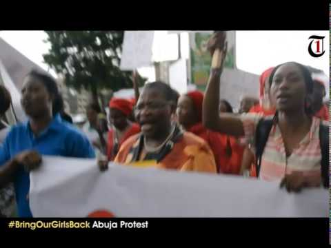 Kidnapped Girls: Outrage, tears as Nigerian women protest
