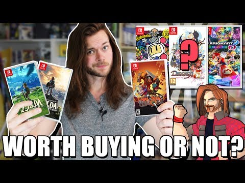 5 Nintendo Switch Games That Are Worth The Price & 5 That ARE NOT!