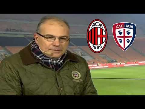 SUMA - SAPETE COSA HA FATTO PIATEK ?? TACCCC POI CANTA CON LA CURVA - Milan Cagliari 3-0