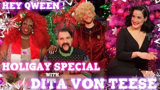 Dita Von Teese on the Hey Qween! HoliGay Special | Hey Qween