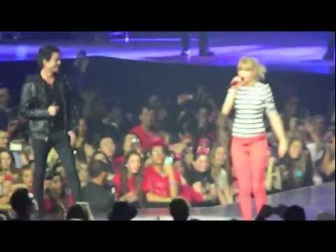 Drive By - Taylor Swift & Pot Monahan (lead singer of Train) - 3/29/13