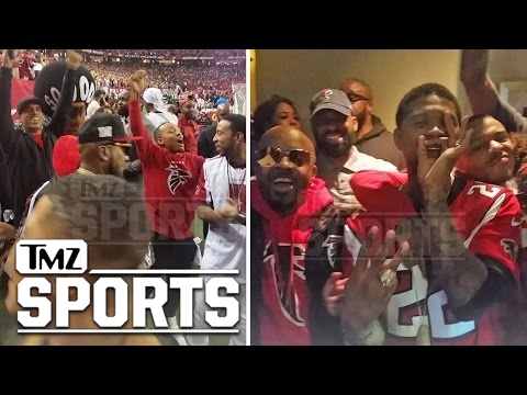 ATL FALCONS SIDELINES PACKED WITH HUGE STARS ... Usher, Ludacris, Jeezy   TMZ Sports