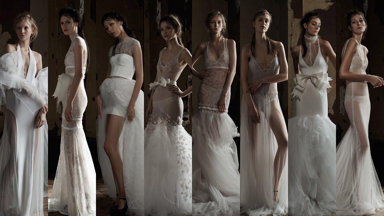 Свадебные платья из коллекции веры вонг