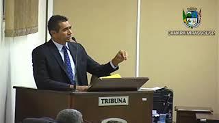 3ª Sessão Ordinária - Vereador Sérgio Leiteiro