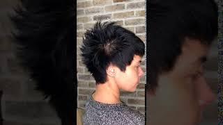 Стильная стрижка на темные волосы Короткая стрижка Минск