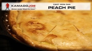 Kamado Joe Peach Pie