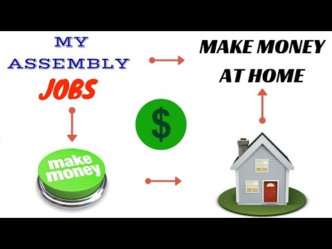 My Assembly Jobs Review  - Make Money At Home 2018