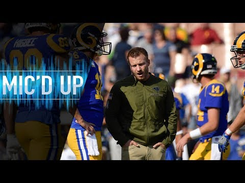 "Sean McVay Mic'd Up vs. Seahawks ""Get the Halle Berry!"" 